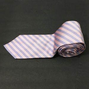 Isaia Napoli Mens Striped Neck Tie